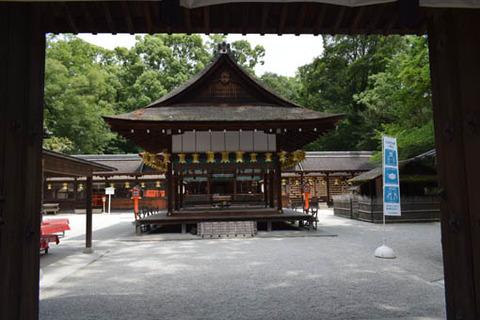 河合神社-拝殿