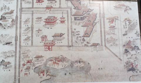 中世の名古曽の滝