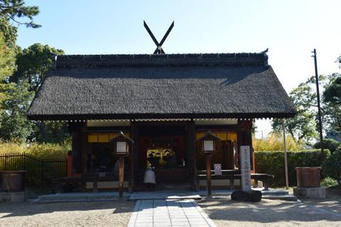 大海神社-幣殿