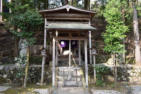 御髪神社-本殿