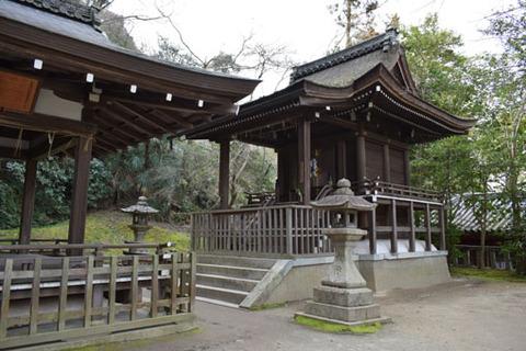 高良神社-本殿