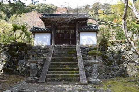 鷹司家の墓の門