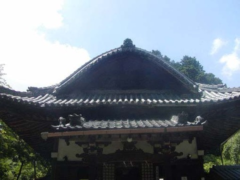 本堂-屋根