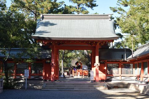 本宮への門-南側