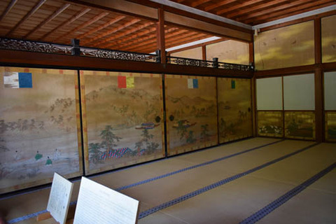 宸殿-中段の間-大堰川三船之図