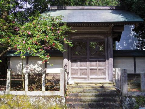 本坊への門