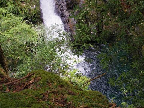 三の滝-滝壺