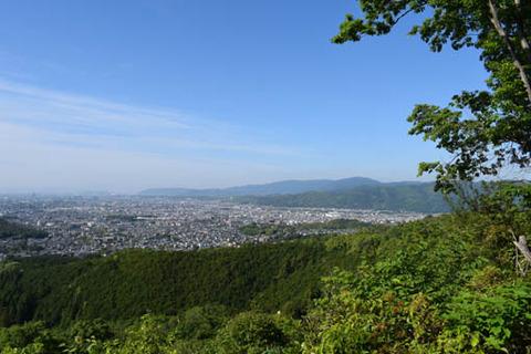 市内展望-西山
