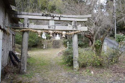 御谷神社-鳥居