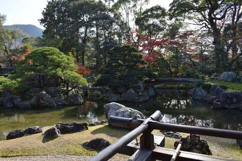 庭園-鶴島と亀島