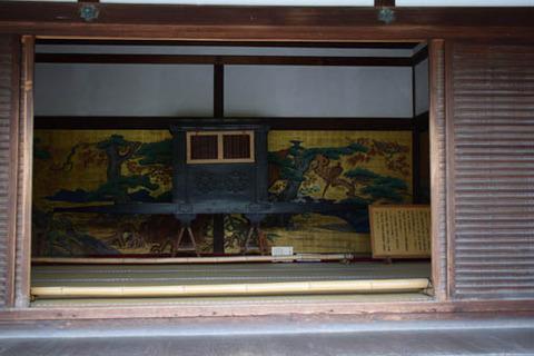 式台玄関-輿