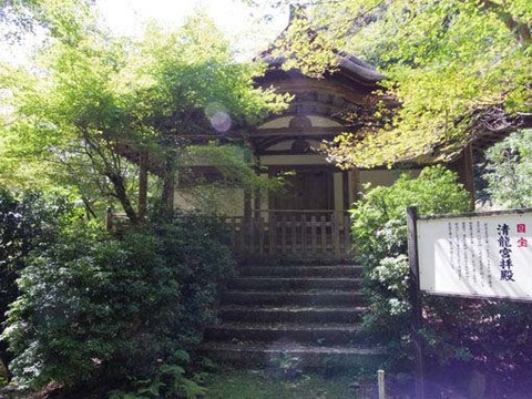 清瀧宮拝殿-2
