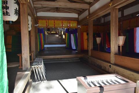 大田神社-拝殿