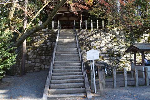 若宮社-石段