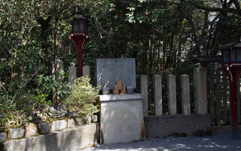 発祥の石碑