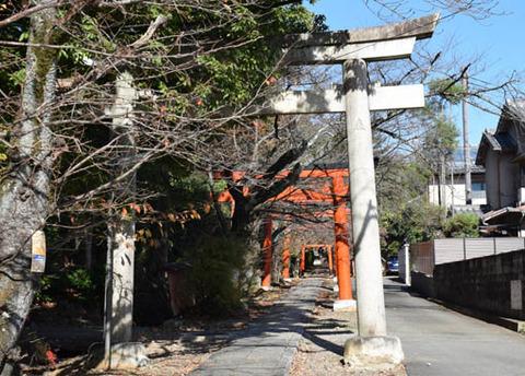 竹中稲荷神社-鳥居