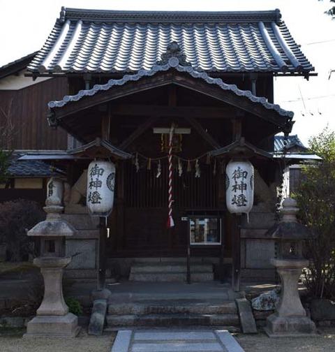 春日神社-石灯籠