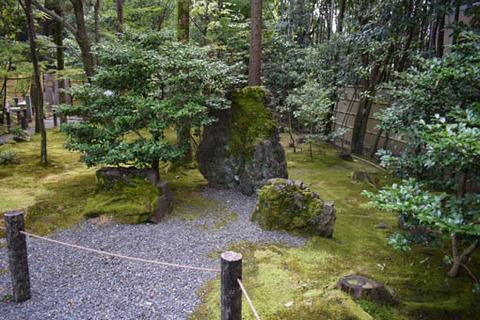真如の庭-三尊石