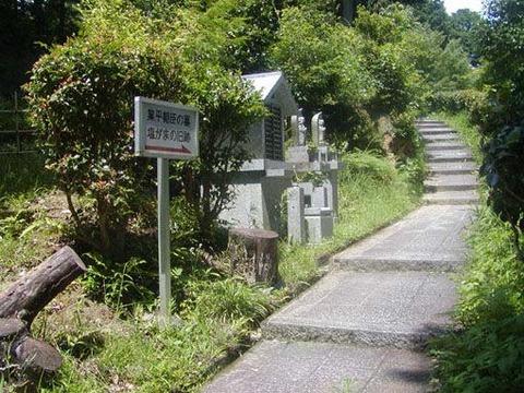 山道の入口