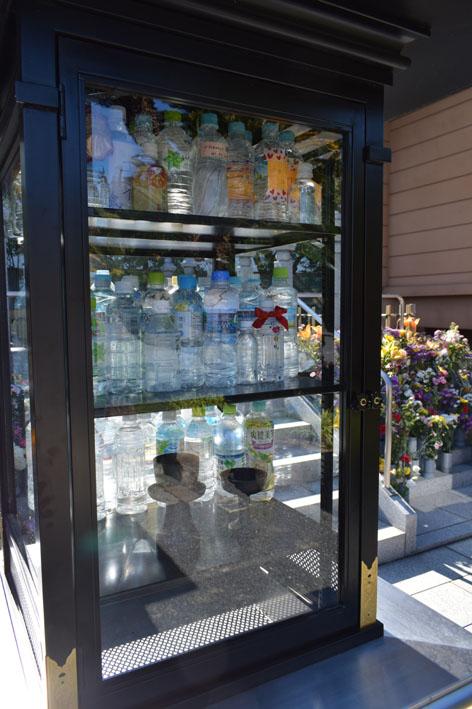 新しい施設-水の奉納