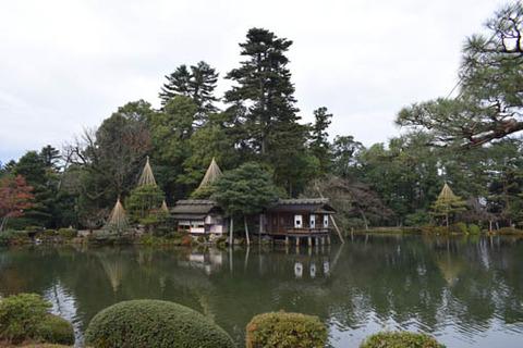 霞ヶ池-内橋亭