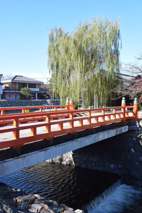中島橋-柳