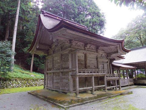 地主神社-本殿