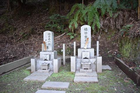 福田平八郎の墓
