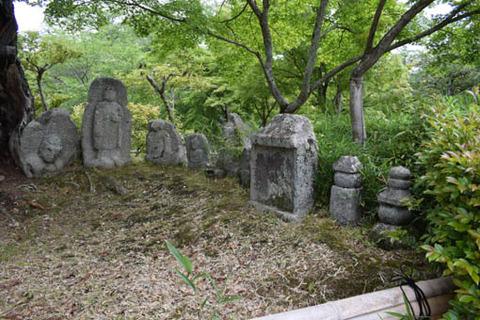 石仏群-地蔵菩薩他