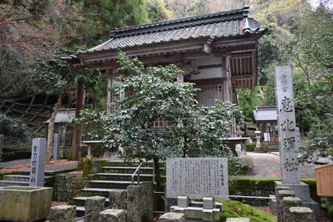 恵比須社の拝殿