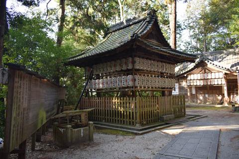 八神社-拝殿