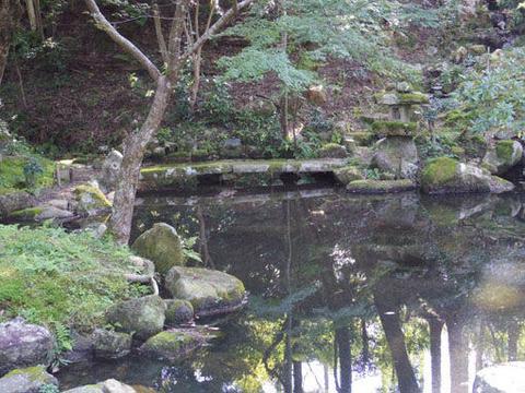 弁天池-滝