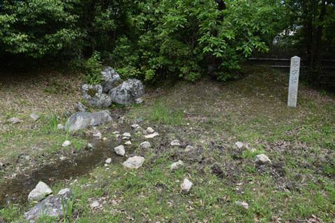 名古曽の滝跡