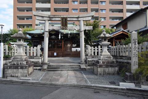 玄武神社-鳥居