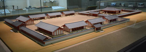 大極殿及び朝堂院の模型