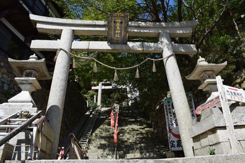竹生島神社鳥居