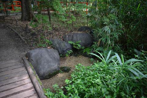 奈良の小川-復元-水源