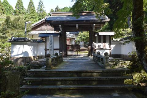 浄蓮華院-山門