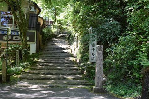 参道の石段