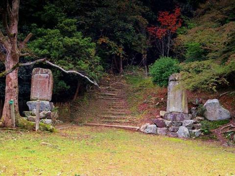 華の谷への道