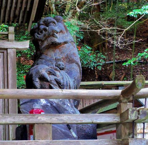 狛犬-右-吽形