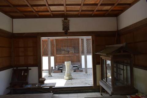 妙見堂-拝殿