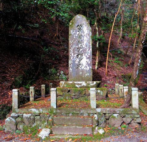 稚児之桜の碑