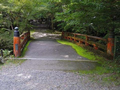 上醍醐への橋