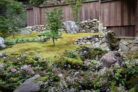 廊下左の庭