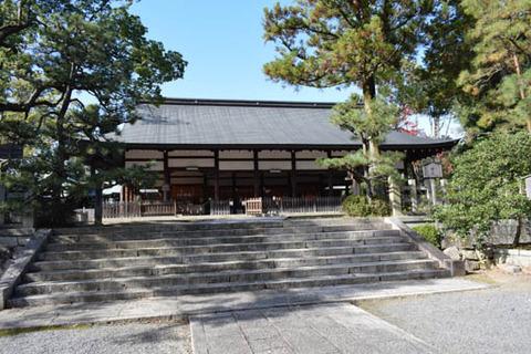 宗忠神社-拝殿