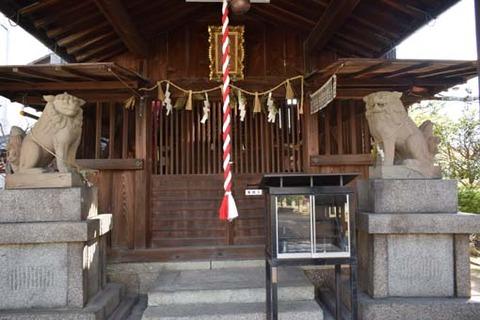 春日神社-狛犬