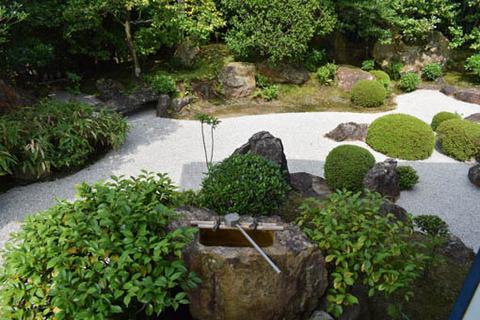 元信の庭-つくばい
