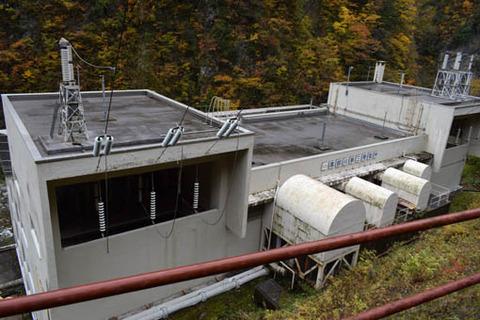 黒部川第三発電所