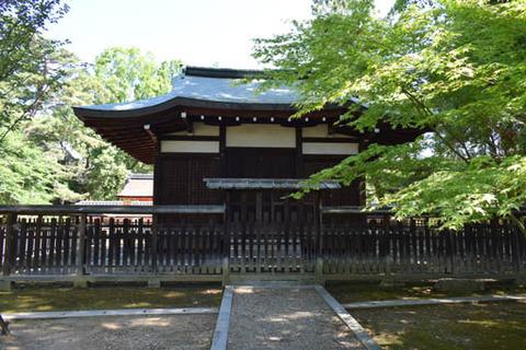 九所明神社-拝殿